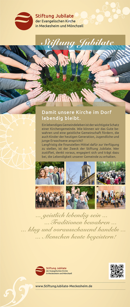 Roll-Up Stiftung Jubilate